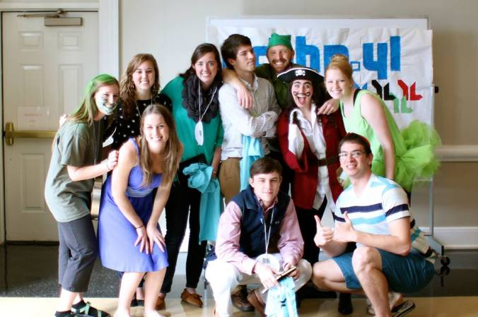 Young Life new leader placement day